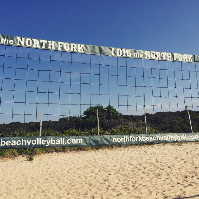 Watherbreak park in Mattituck , NY #northfork #summer #mattituck #valleyball #sky #beach