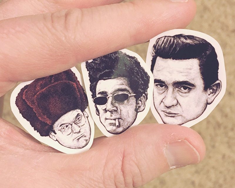 All March, we're dropping mini stickers in orders. Randomly selected/guaranteed awesome.
