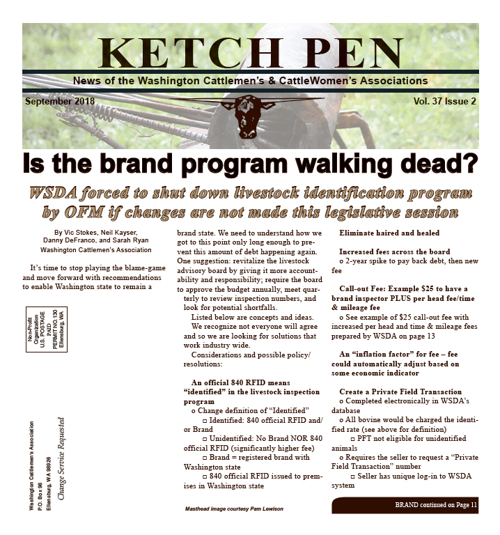 Ketch Pen — Washington Cattlemen\'s Association