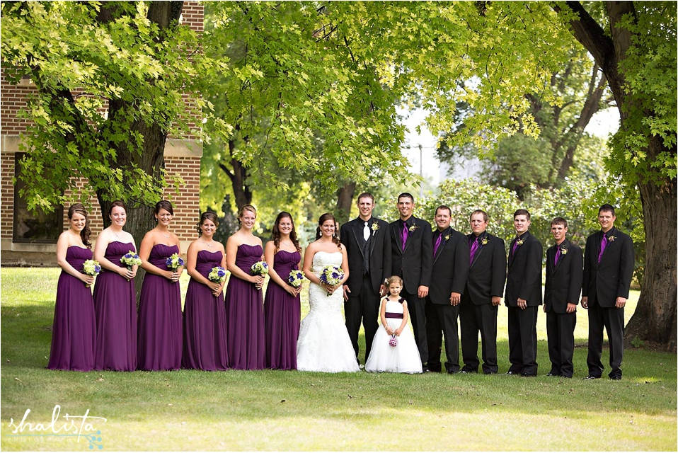 Sioux Falls Bridal Party Photos
