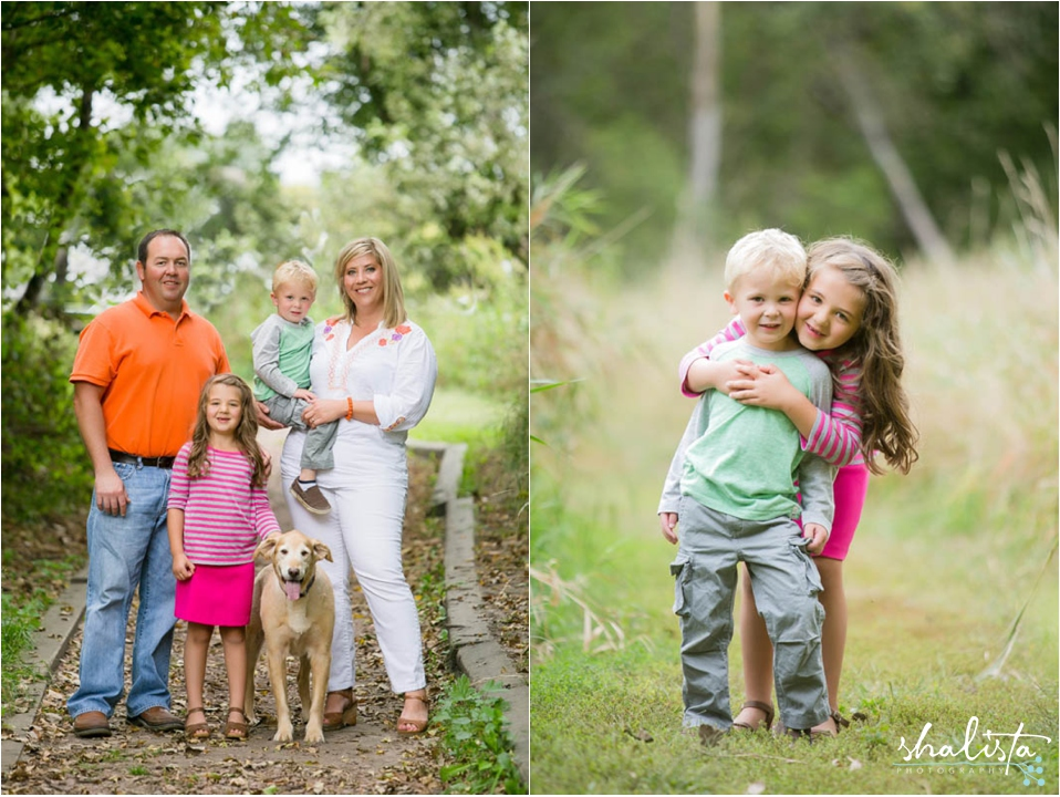 Family Photos at Big Sioux Recreation Area