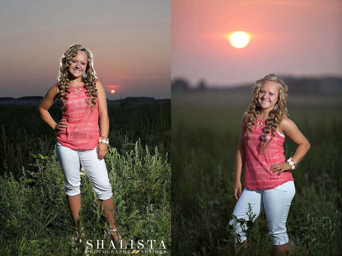Sunrise Senior Portraits