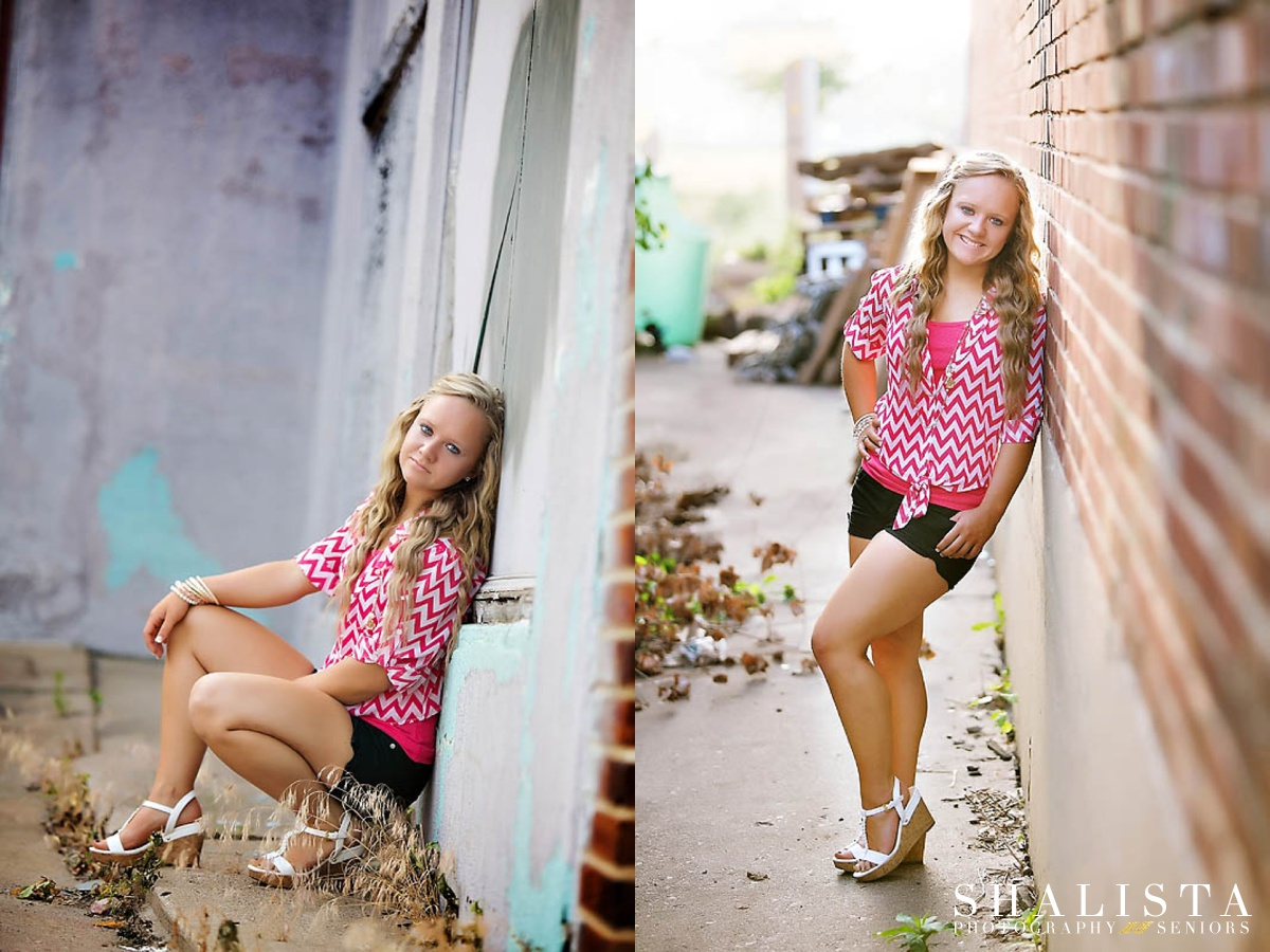 Senior Portraits Downtown