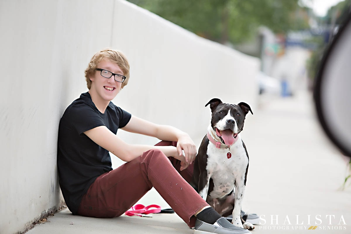 Senior Images and dog