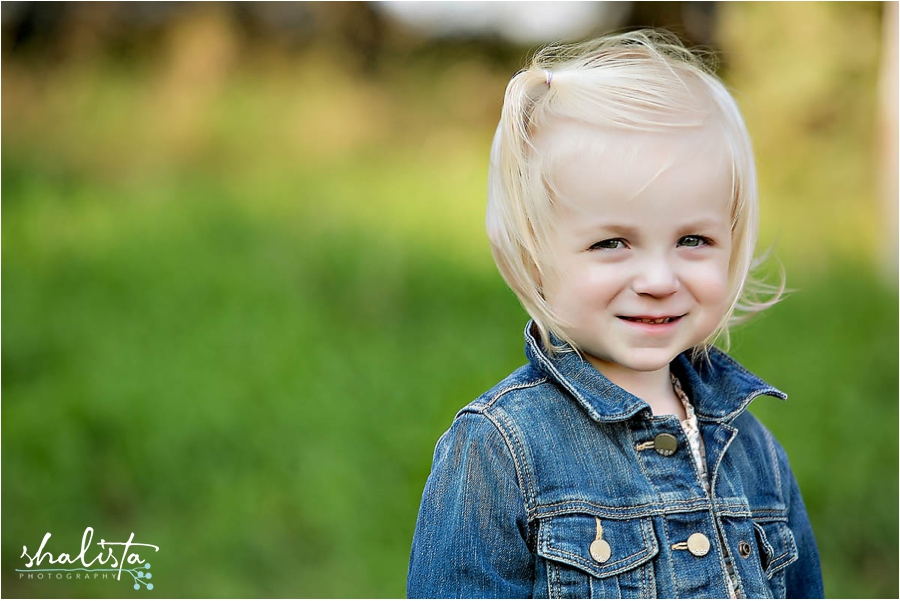 Children outdoor portraits