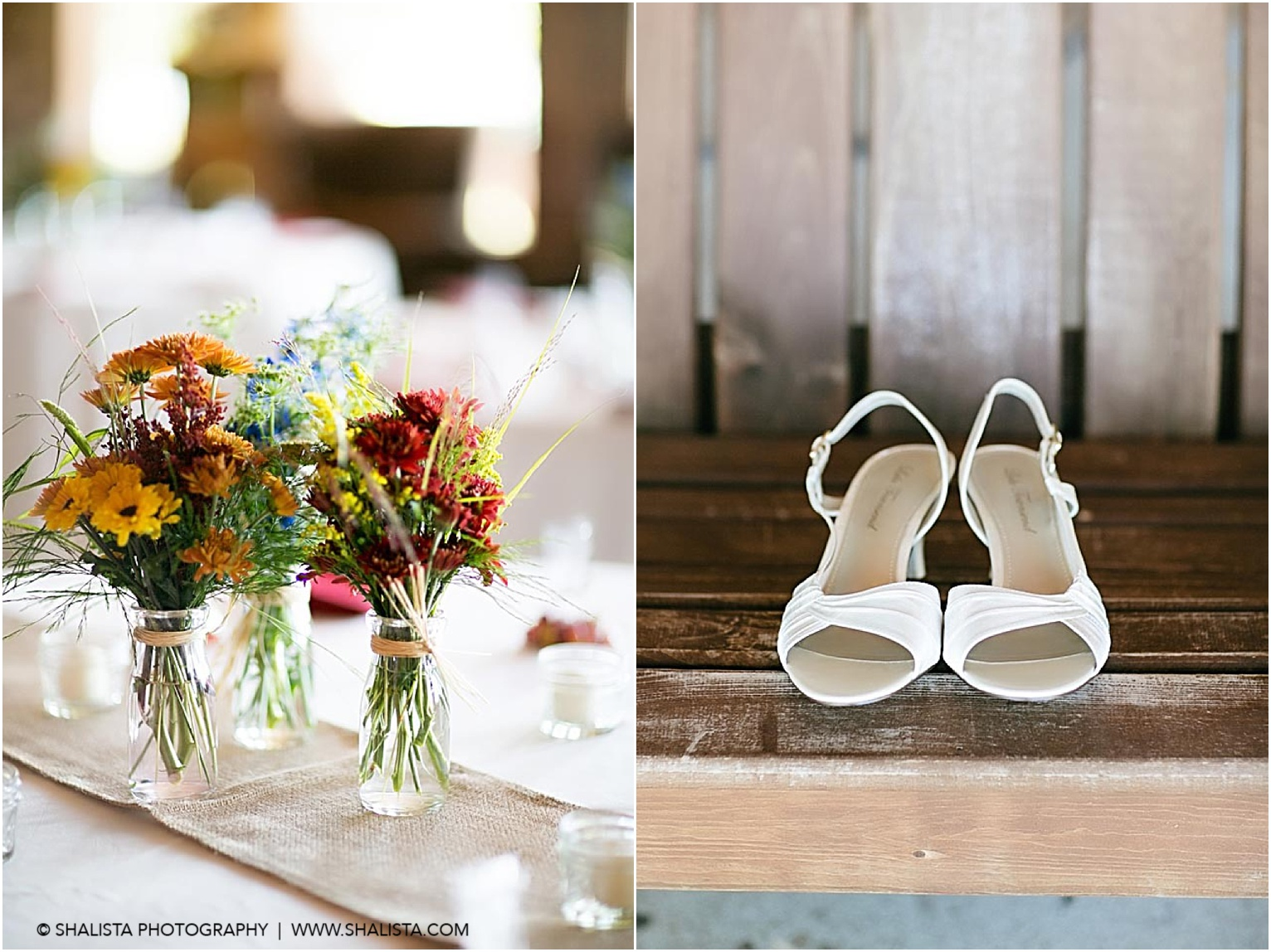 Wedding Shoes and Flowers Photography