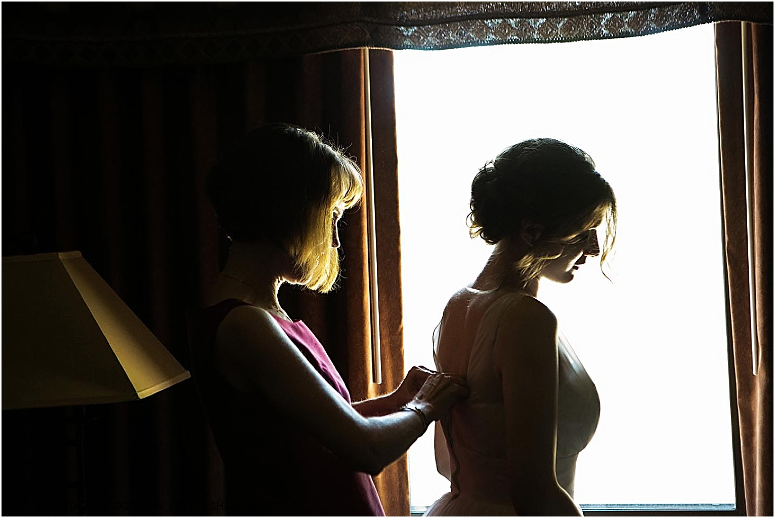Mother and Bride photography