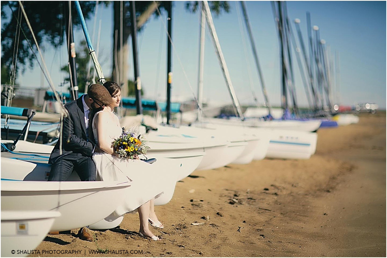 Sail Boat wedding Photography