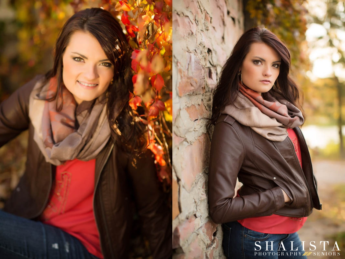 Warm Fall Senior Colors