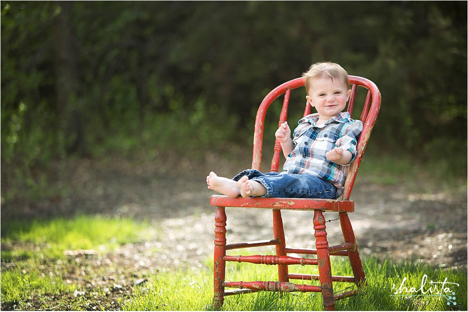 Child Portrait Outdoors