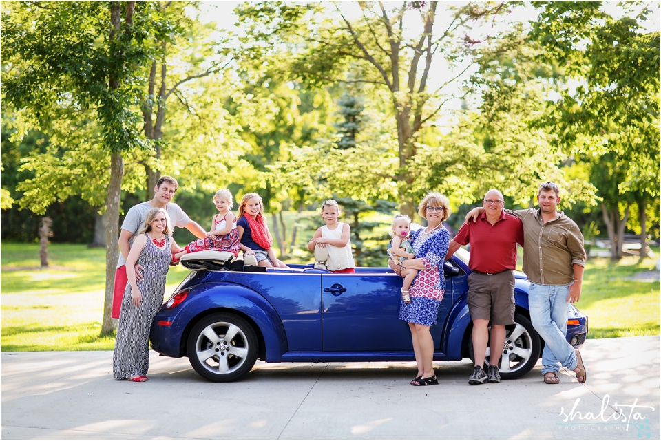 Family Fun in a Car.