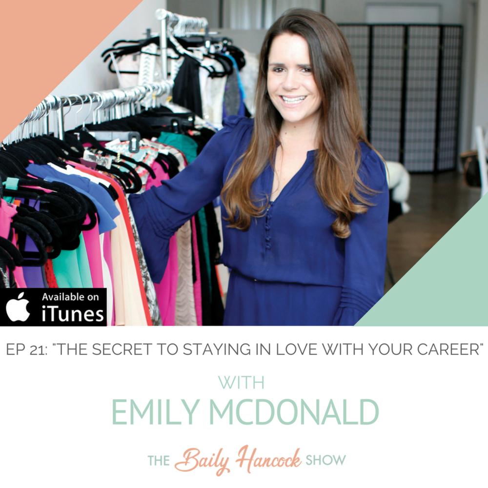 Emily McDonald The Stylist LA