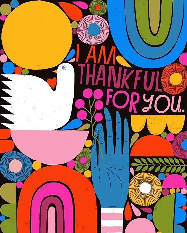 Lisa Congdon thankful