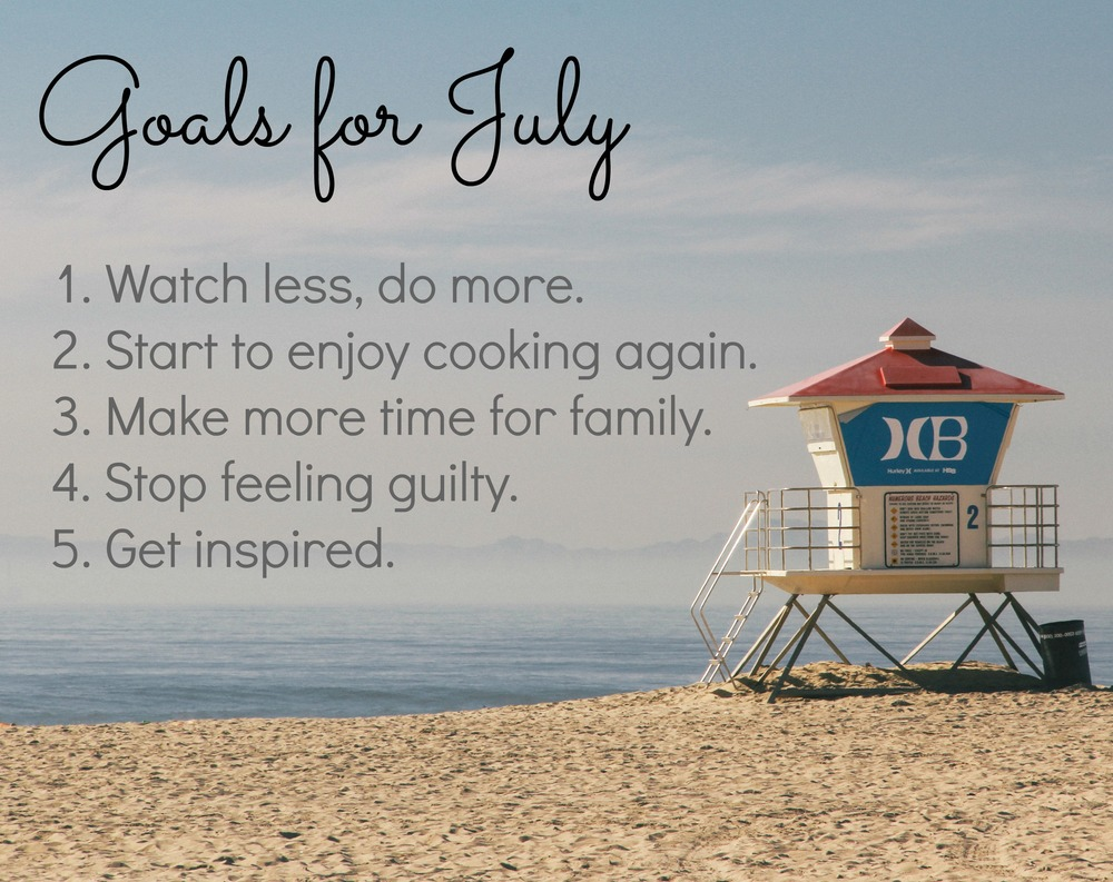 goals for july
