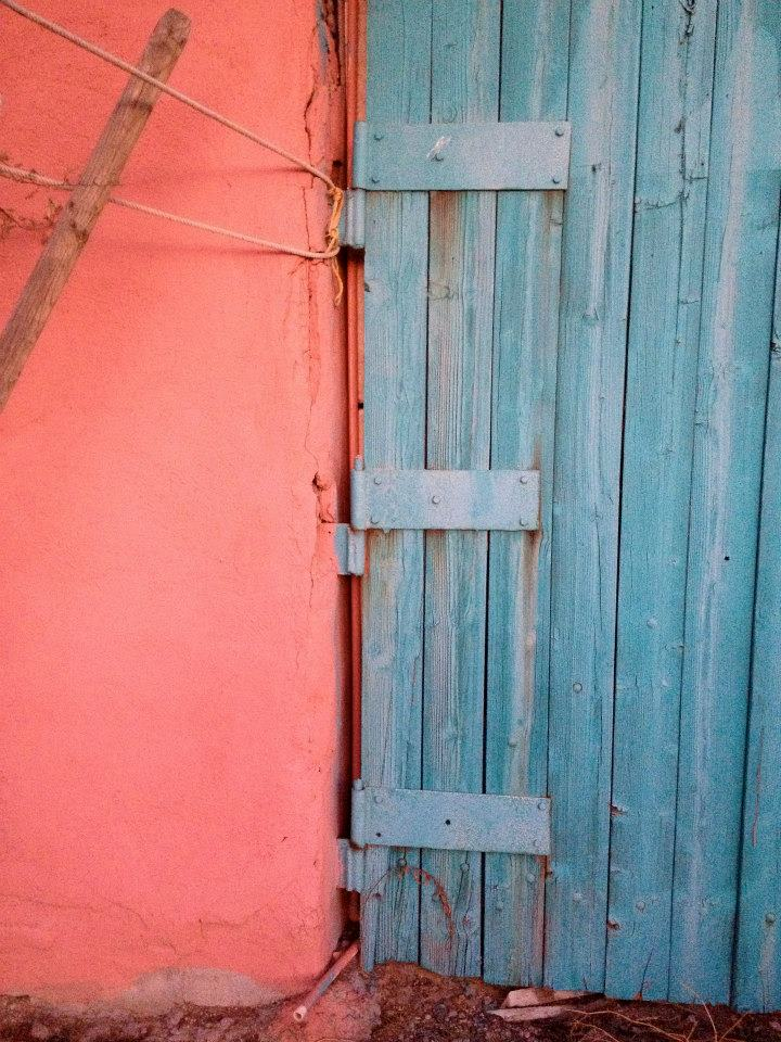 pink with blue door  Florence AZ.jpg