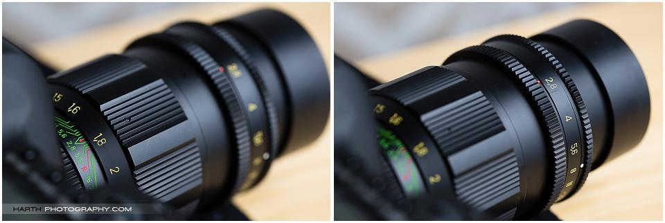 Tair 11A 135mm F2.8 Lens