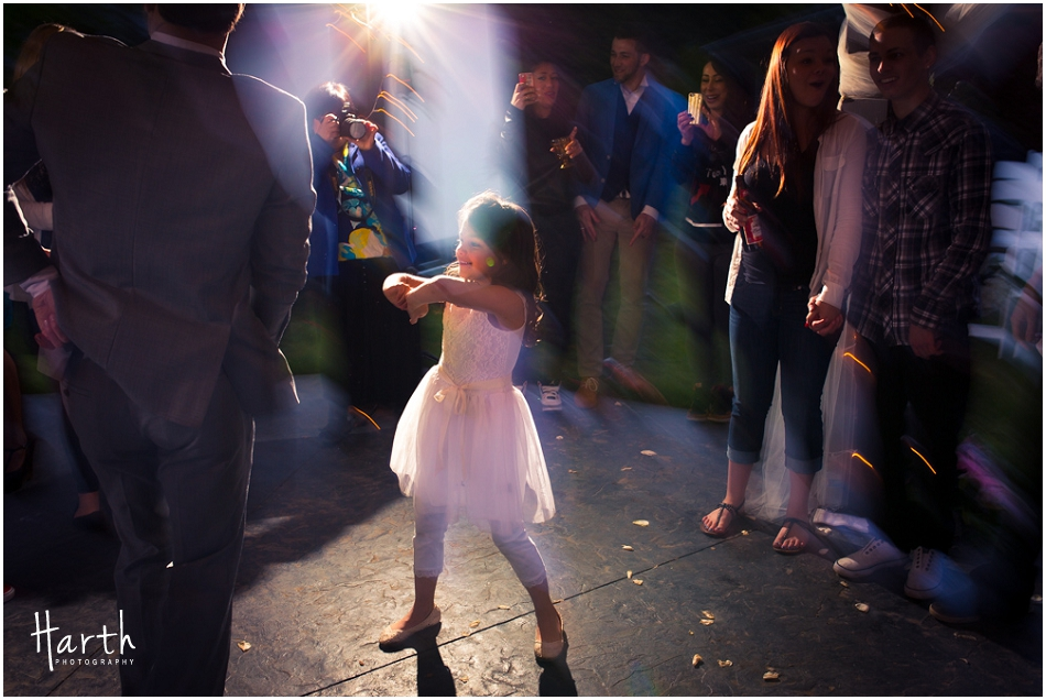 Flower Girl Dancing - Harth Photography