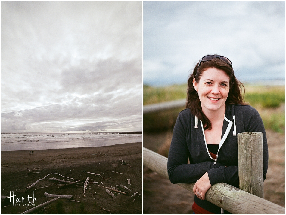 Westport, Washington Beach Portrait