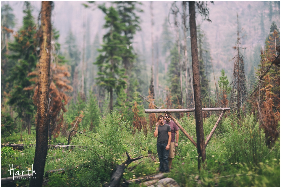 Camping Post