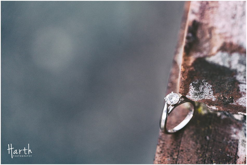 Bricks Engagement Ring | Harth Photography