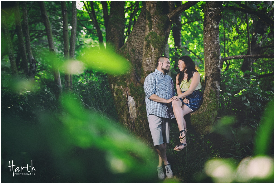 Forest Engagement | Harth Photography