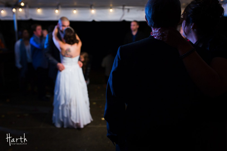 Bride with Groom Dance - Robinswood House Bellevue