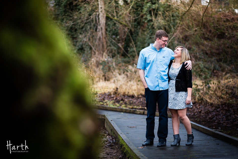 Bothell Landing Engagement Photos