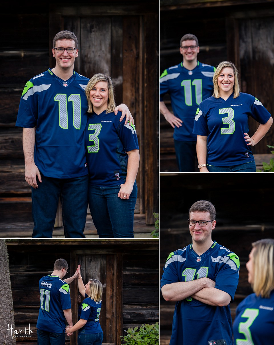 Bothell WA Seahawks Engagement