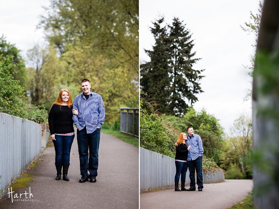 Snohomish Engagement Photos