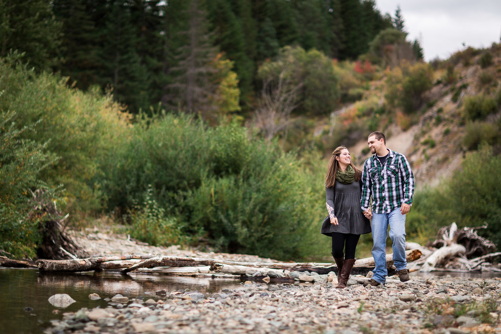 Big Creek Cle Elum Engagement