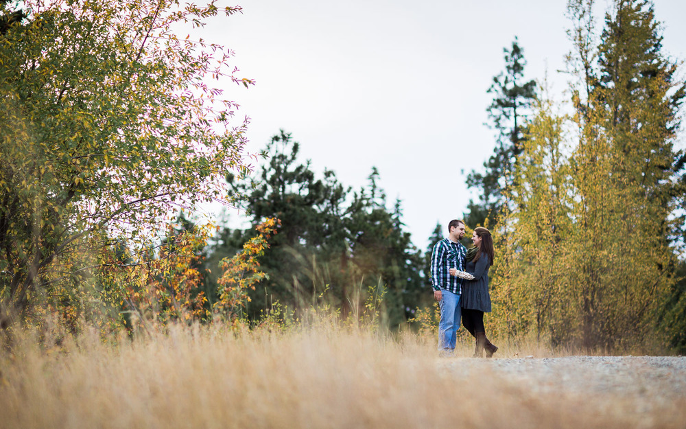 Big Creek Cle Elum Fall Engagement