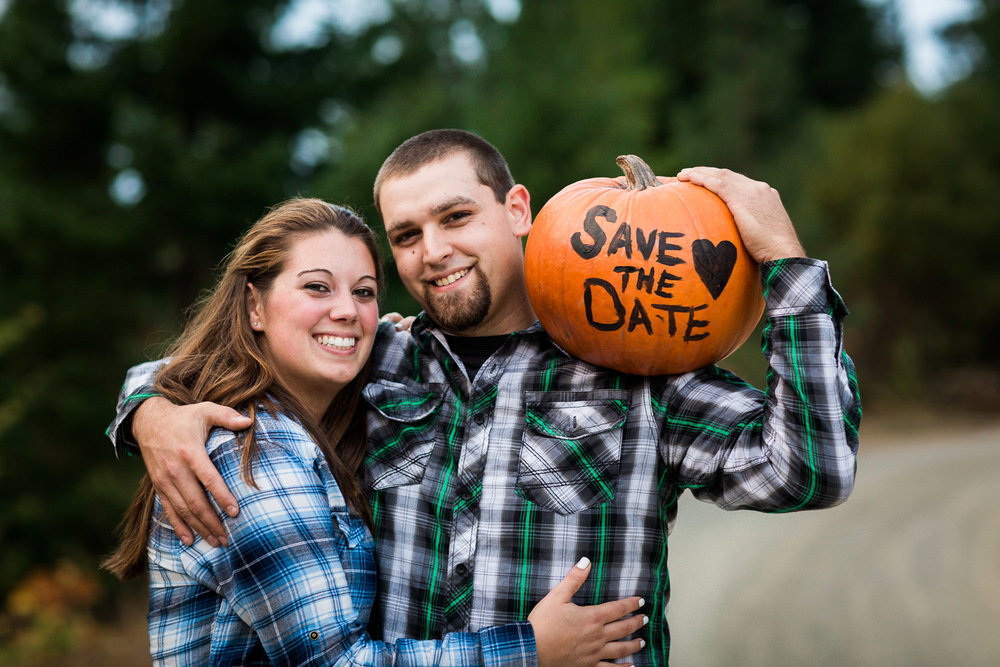Save The Date Cle Elum Engagement