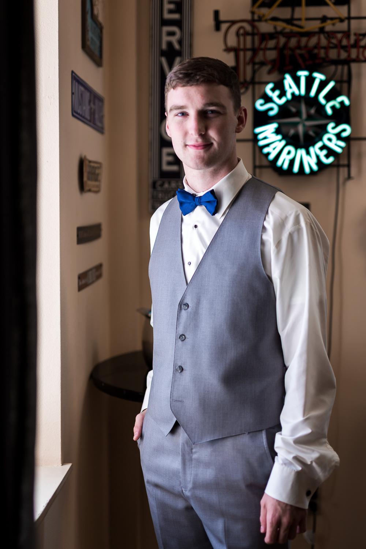 Everett Wedding Groom