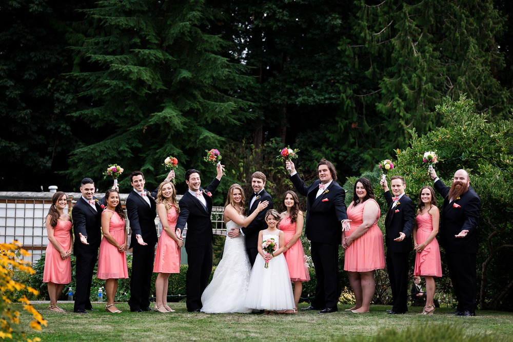 Bridal Party - Twin Willow Gardens