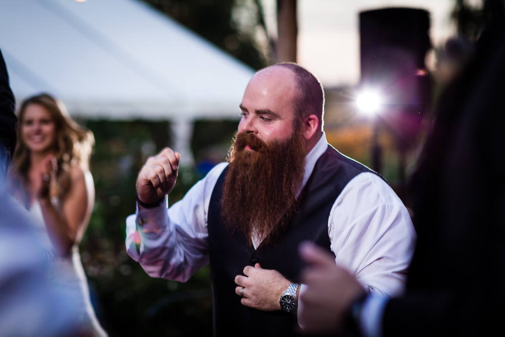 Bearded Groomsmen - Snohomish Wedding