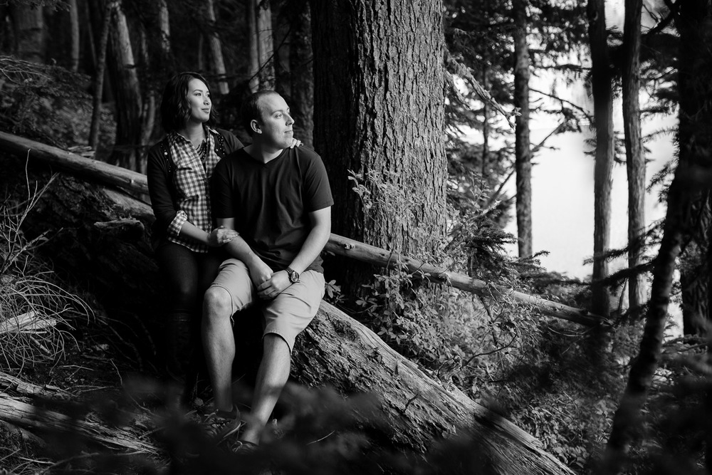 Tolmie Peak Engagement - Mt. Rainier
