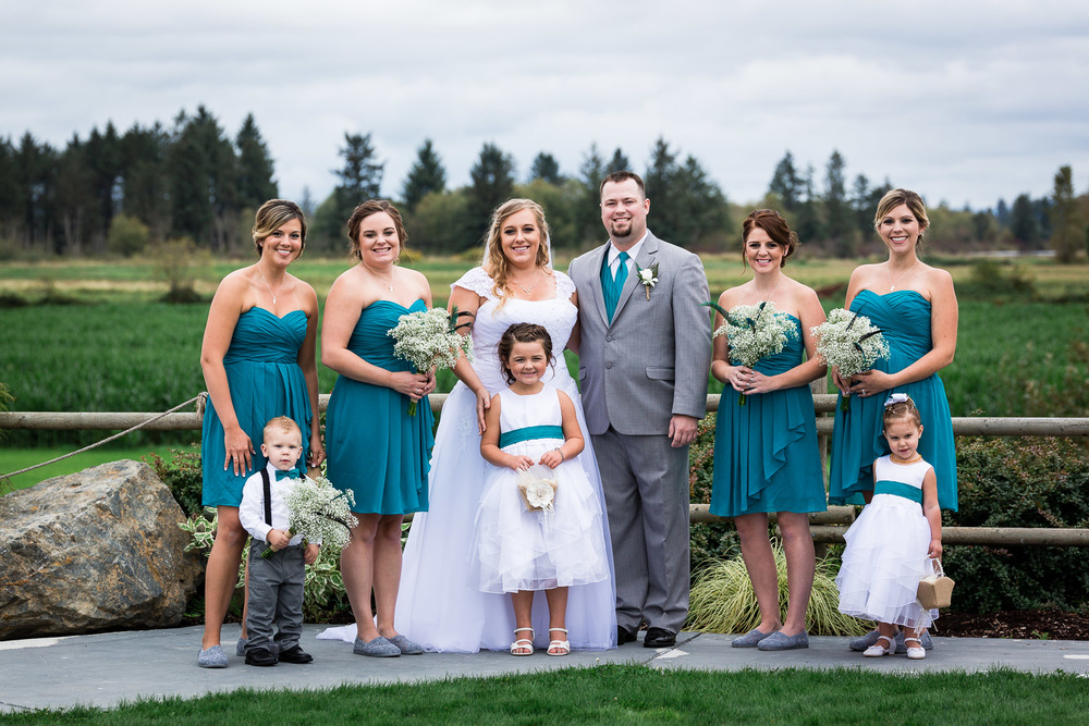 Snohomish Country Style Wedding Photography
