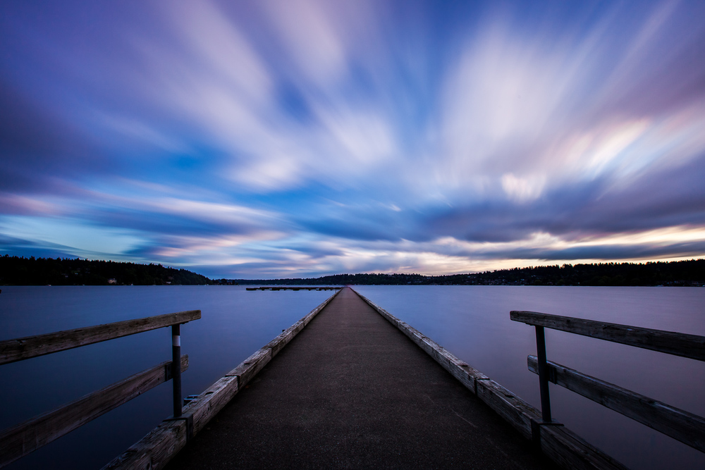 Kenmore Washington Sunset Landscape Photography