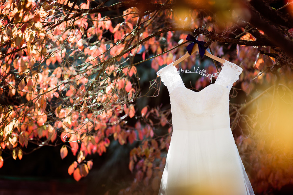 Portland Fall Wedding Dress
