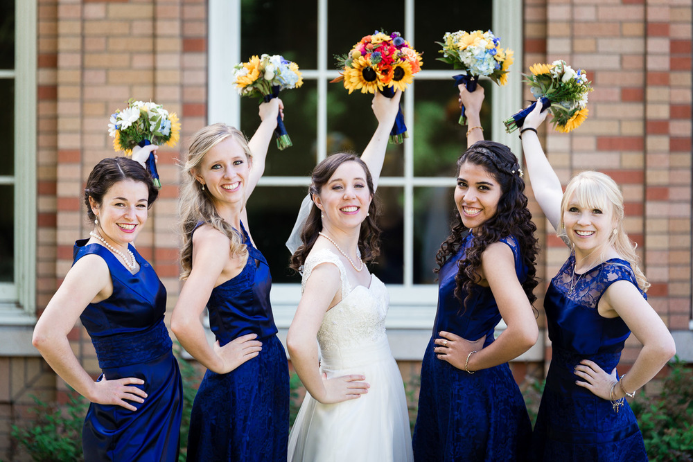 Portland Bride and Bridesmaids