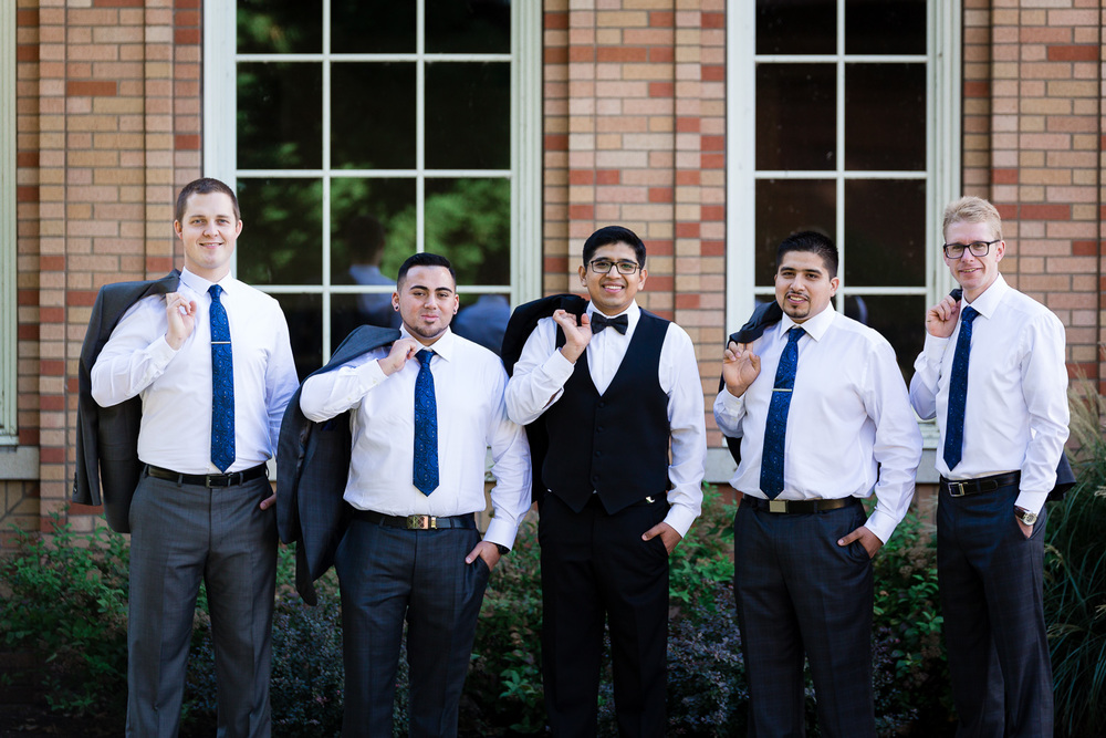 Portland Groom and Groomsmen