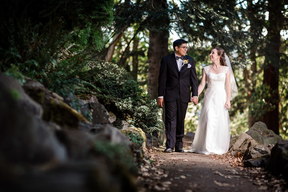 University of Portland Campus Wedding