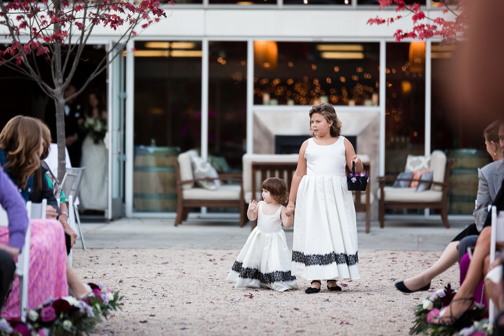 Woodinville Wedding Flower Girls