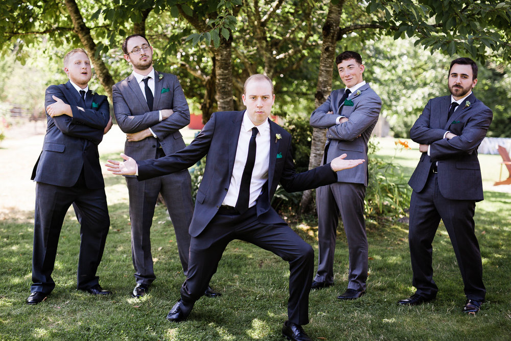 Groom and Groomsmen Seattle