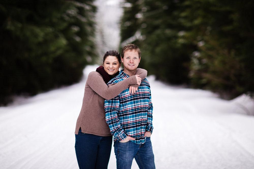 Winter Engagement Photos