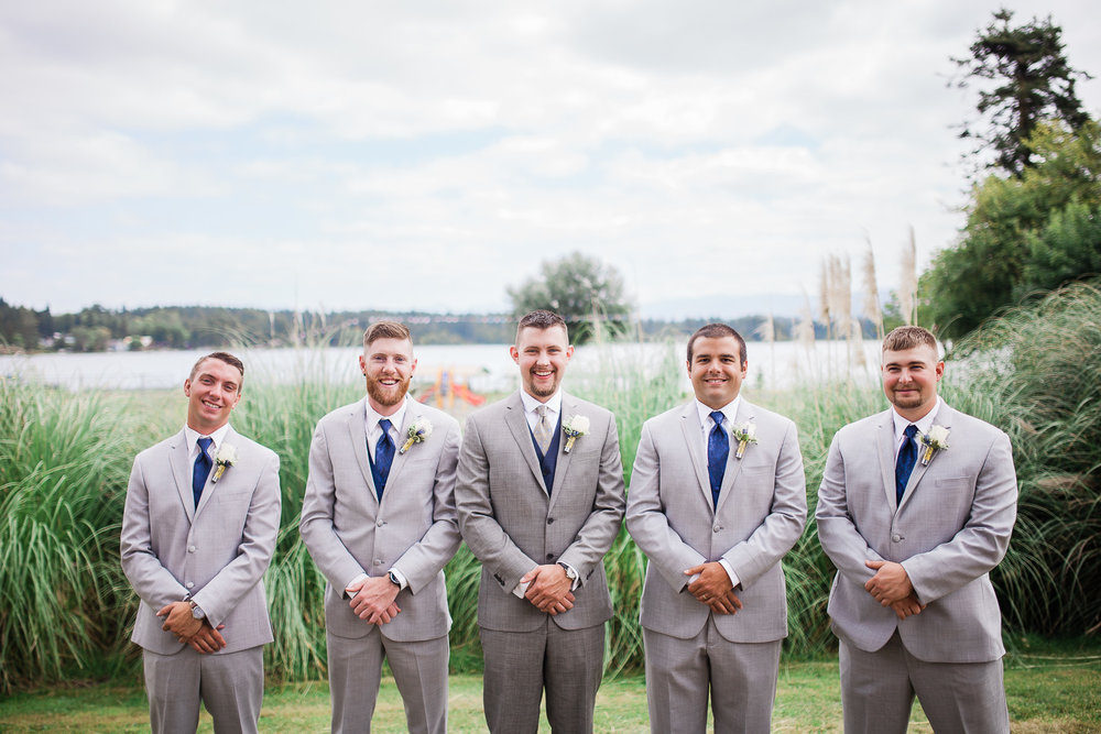 Seattle Groom and Groomsmen