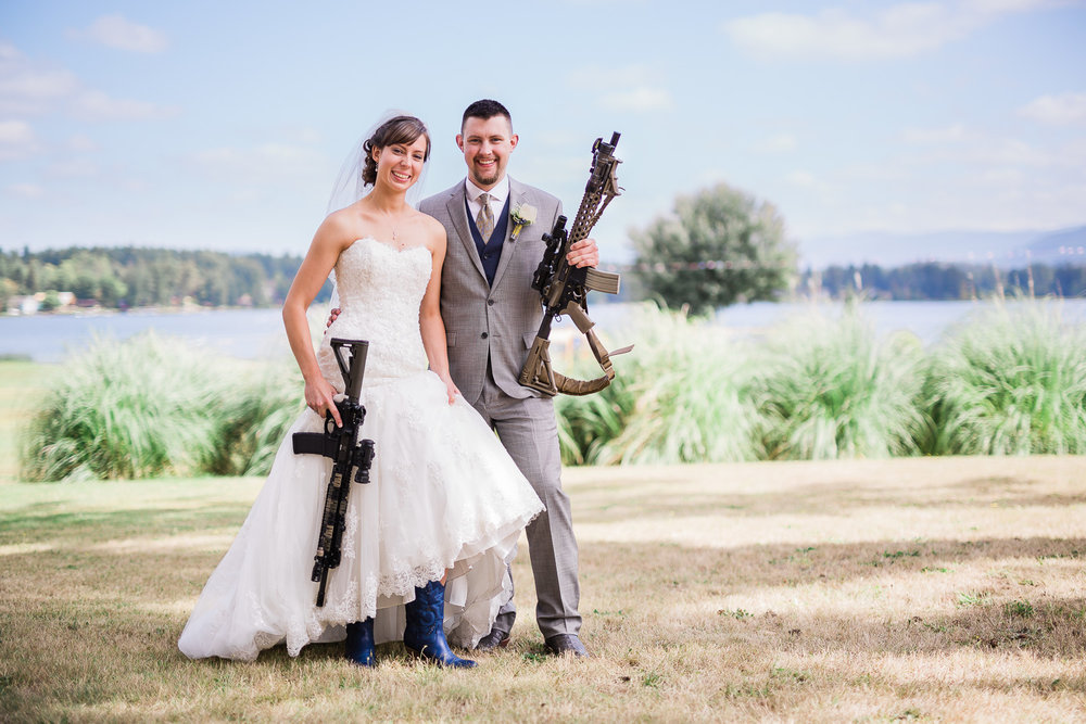 Brides and Guns