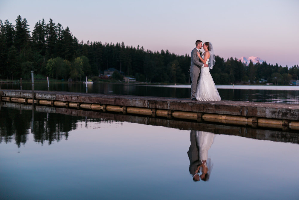 Yelm Sunset Wedding