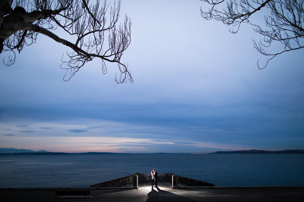 Alki Beach Engagement Photographer