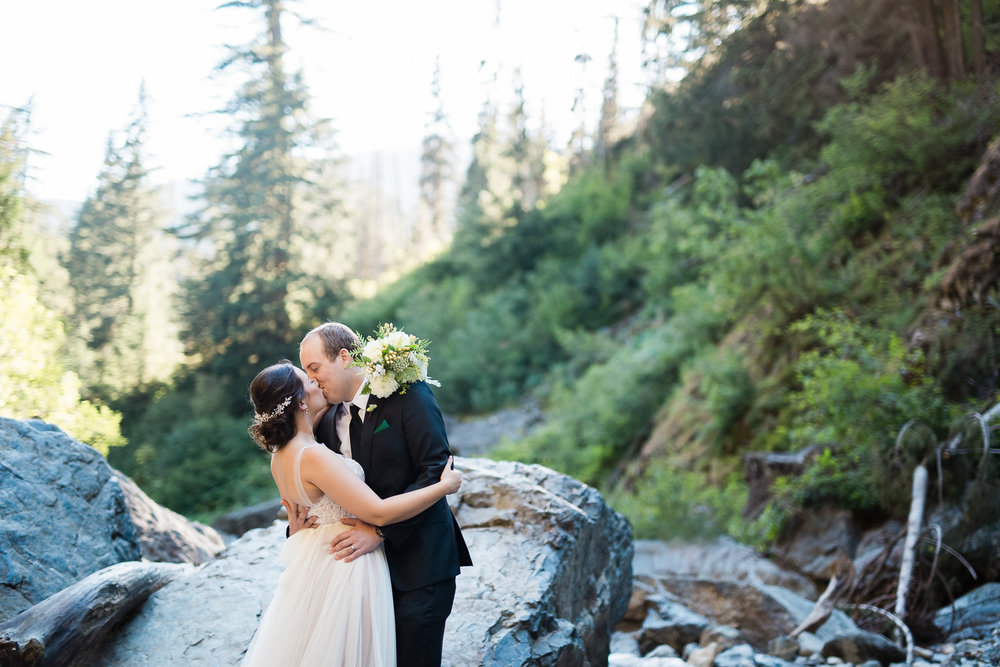 Snoqualmie Pass Wedding